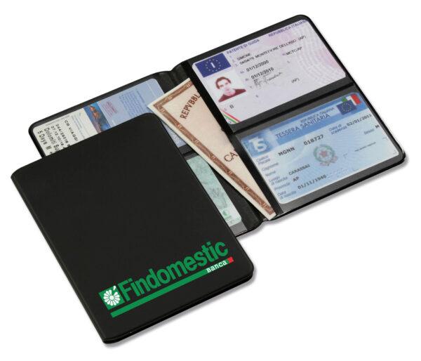 Porta documenti 2 ante tam con porta card