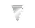 Busta p.gagliardetto triangolare piccolo